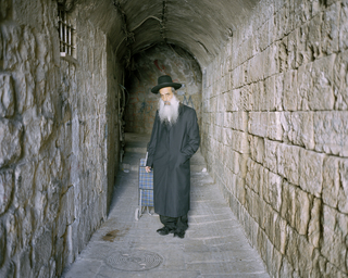 Orthodox jew, Jerusalem, 2013