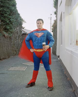 Superman, Cornwall, 2013
