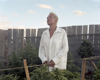 Yvonne, Marijuana farmer, USA, 2014